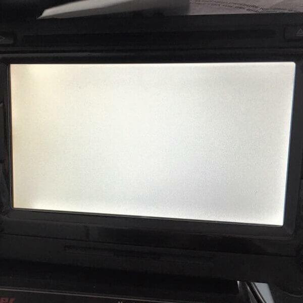 Navi-Fehler Weißer Bildschirm