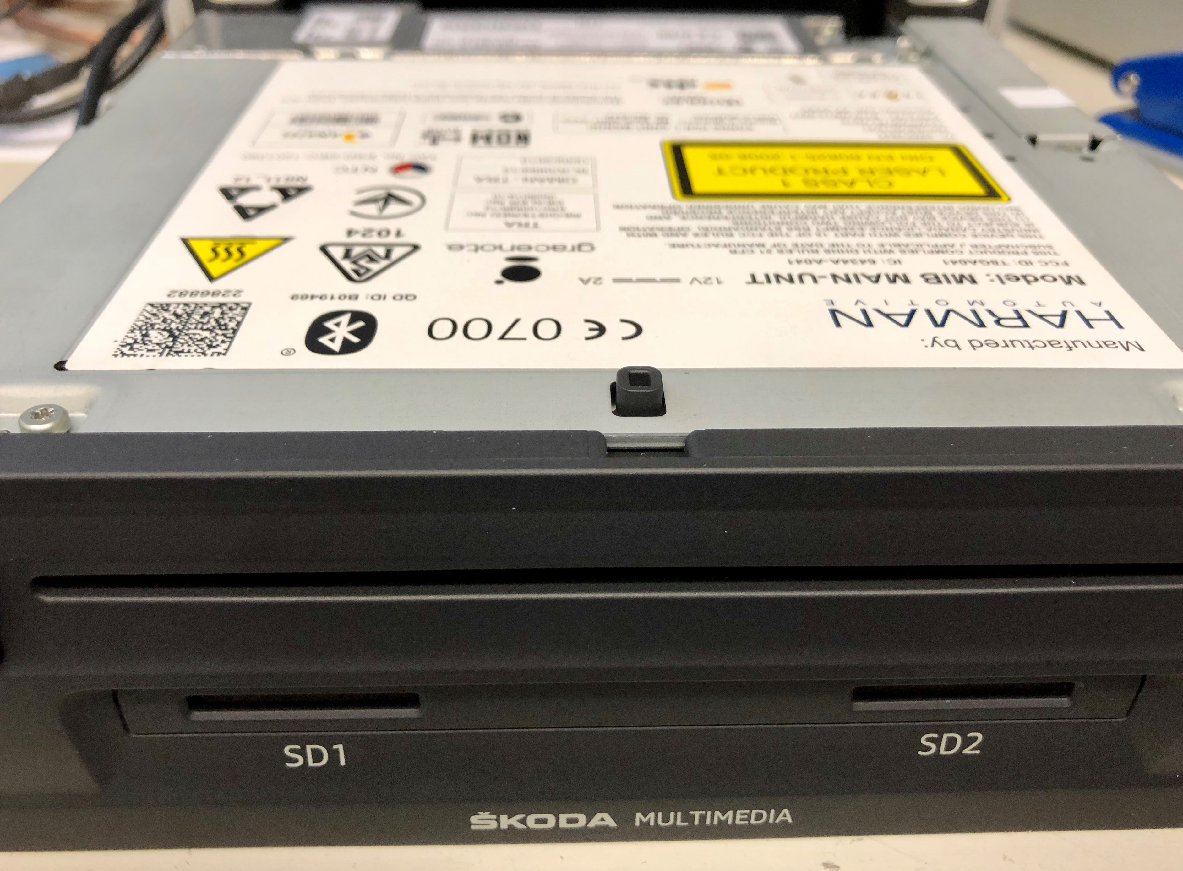 Navi-Fehler Kein Sound / Ton bei MIB 1 (Discover Pro) / Skoda Columbus / Audi MMI Navigationsgeräten